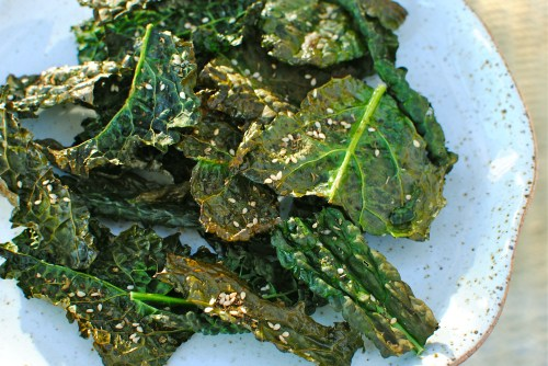 kale chips - always trendy at food to glow