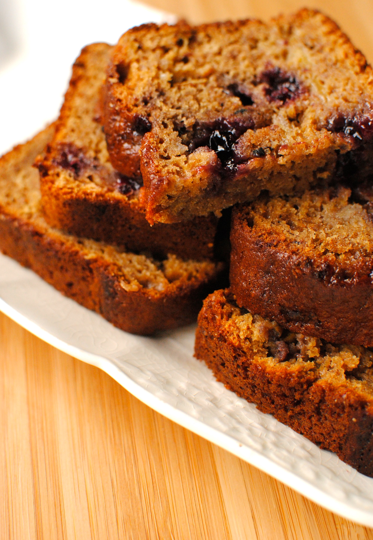 Marbled Peanut Butter And Jam Banana Bread Food To Glow
