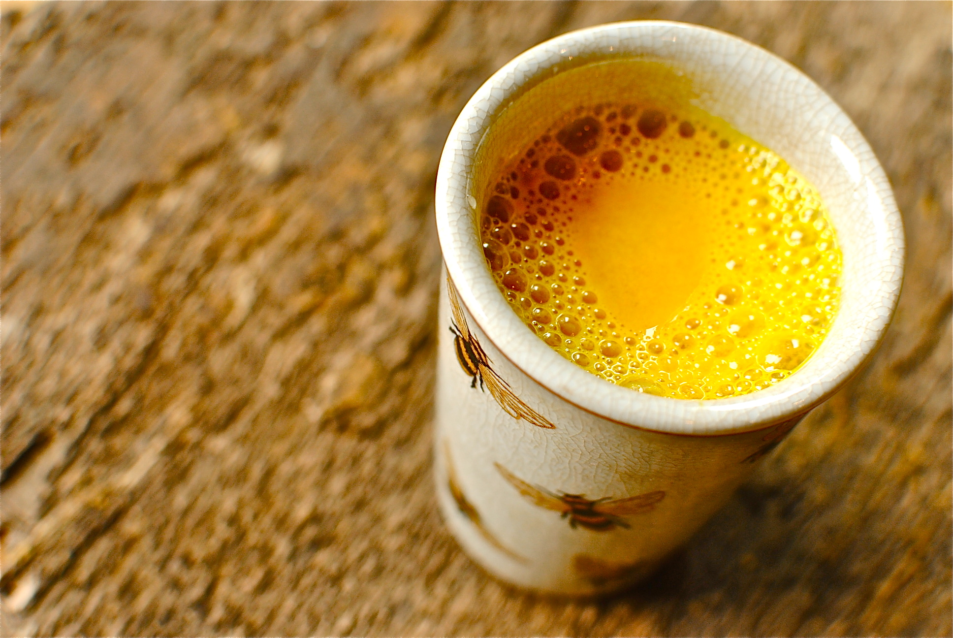 Spiced Golden Turmeric Milk - drinking to your health - food