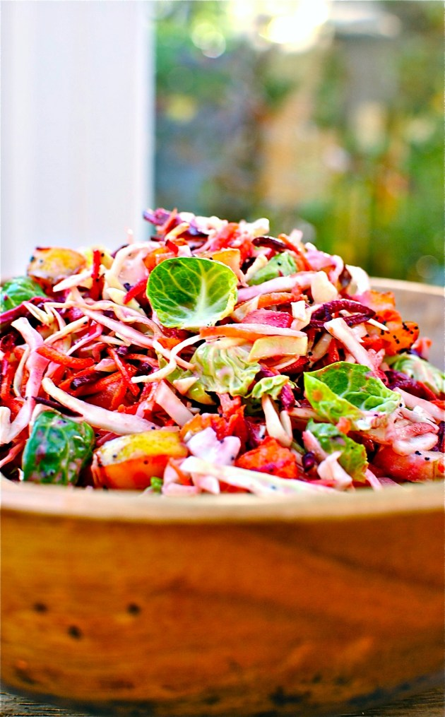pear-and-cranberyy-slaw