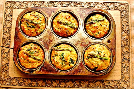savoury vegetable muffins