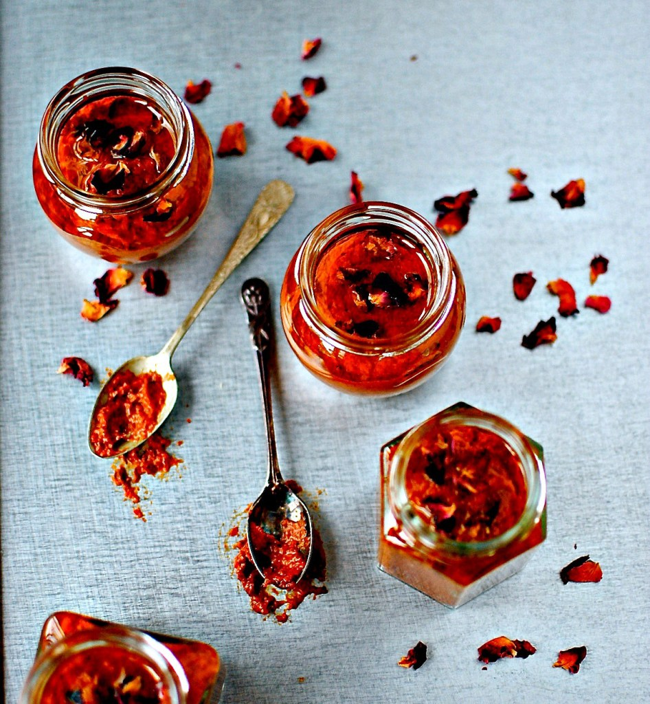 Rose Harissa - a gorgeous little 'side' condiment to dip into