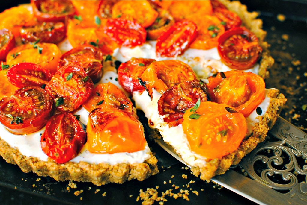 tomato tart by food to glow