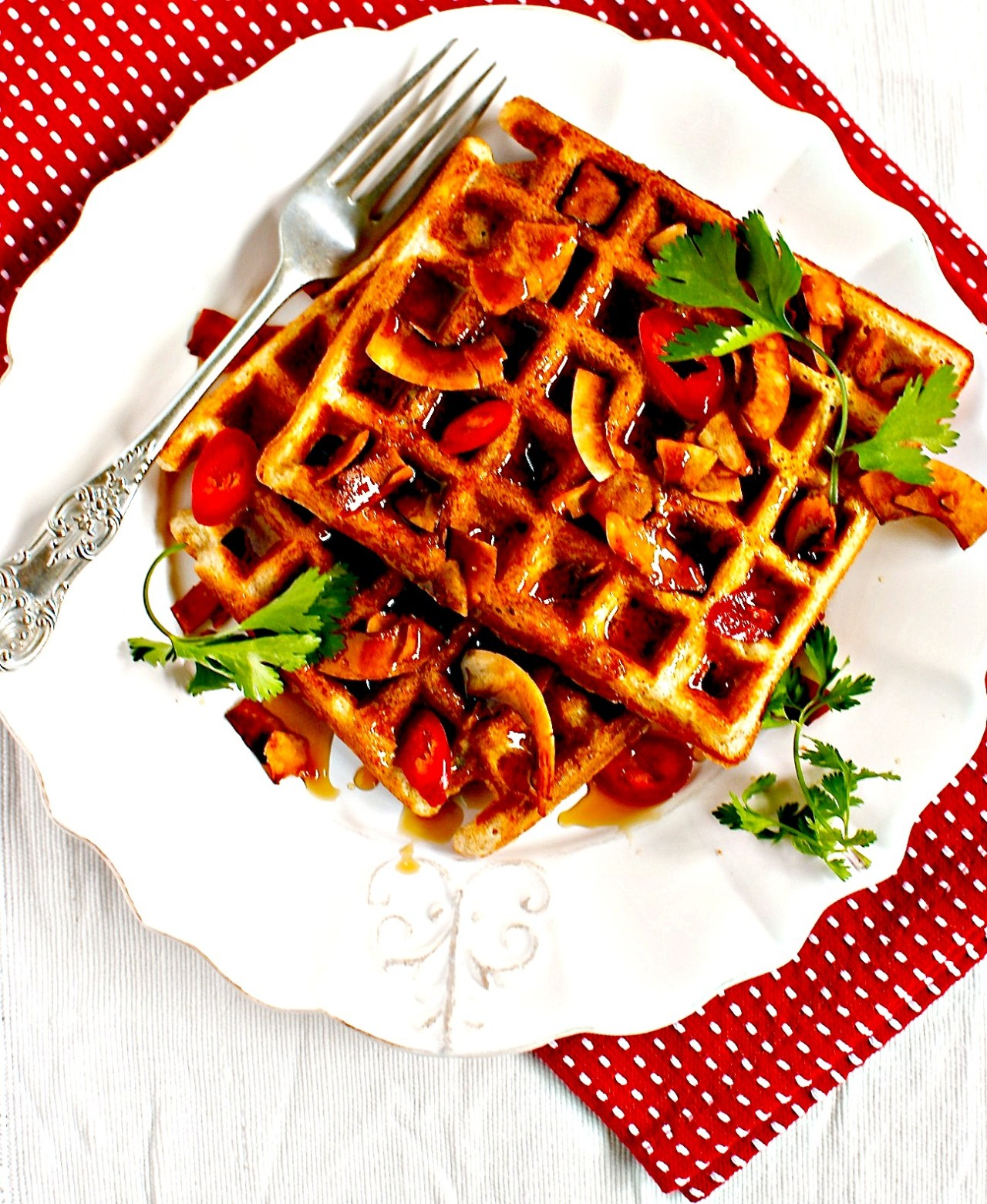 waffles by food to glow