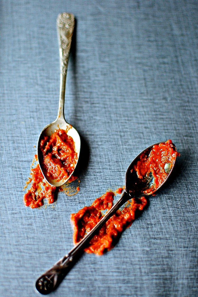 rose harissa made easy and all in a high powered blender