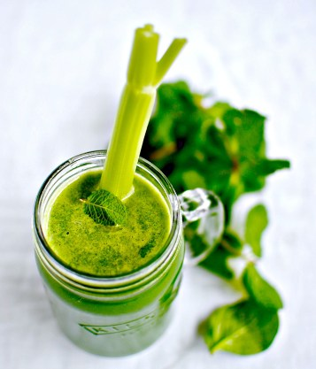 happy tummy tonic juice - food to glow