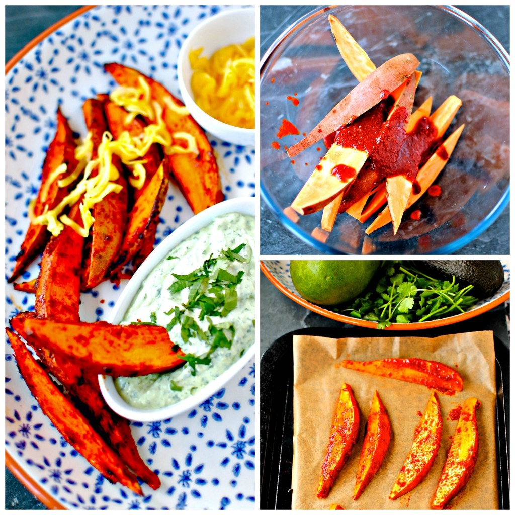 Korean Sweet Potato Wedges // food to glow