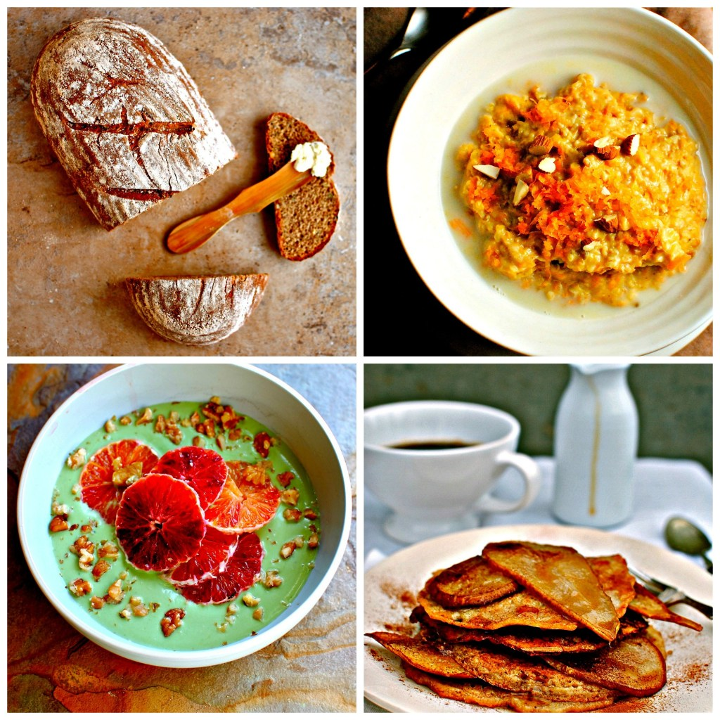breakfast collage - food to glow