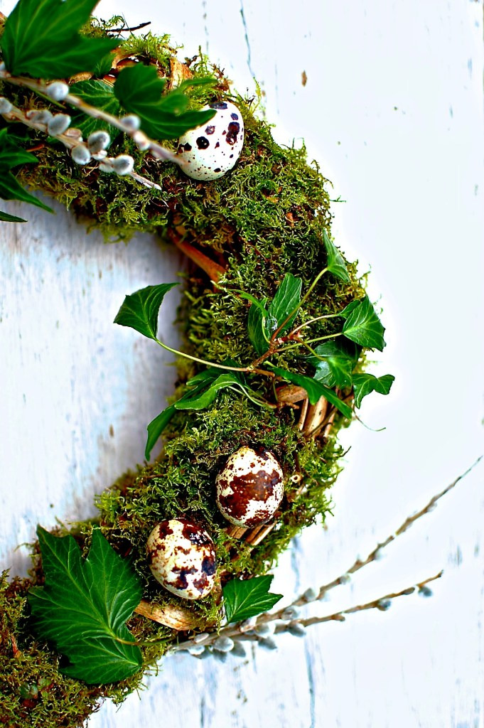 spring-wreath // food to glow