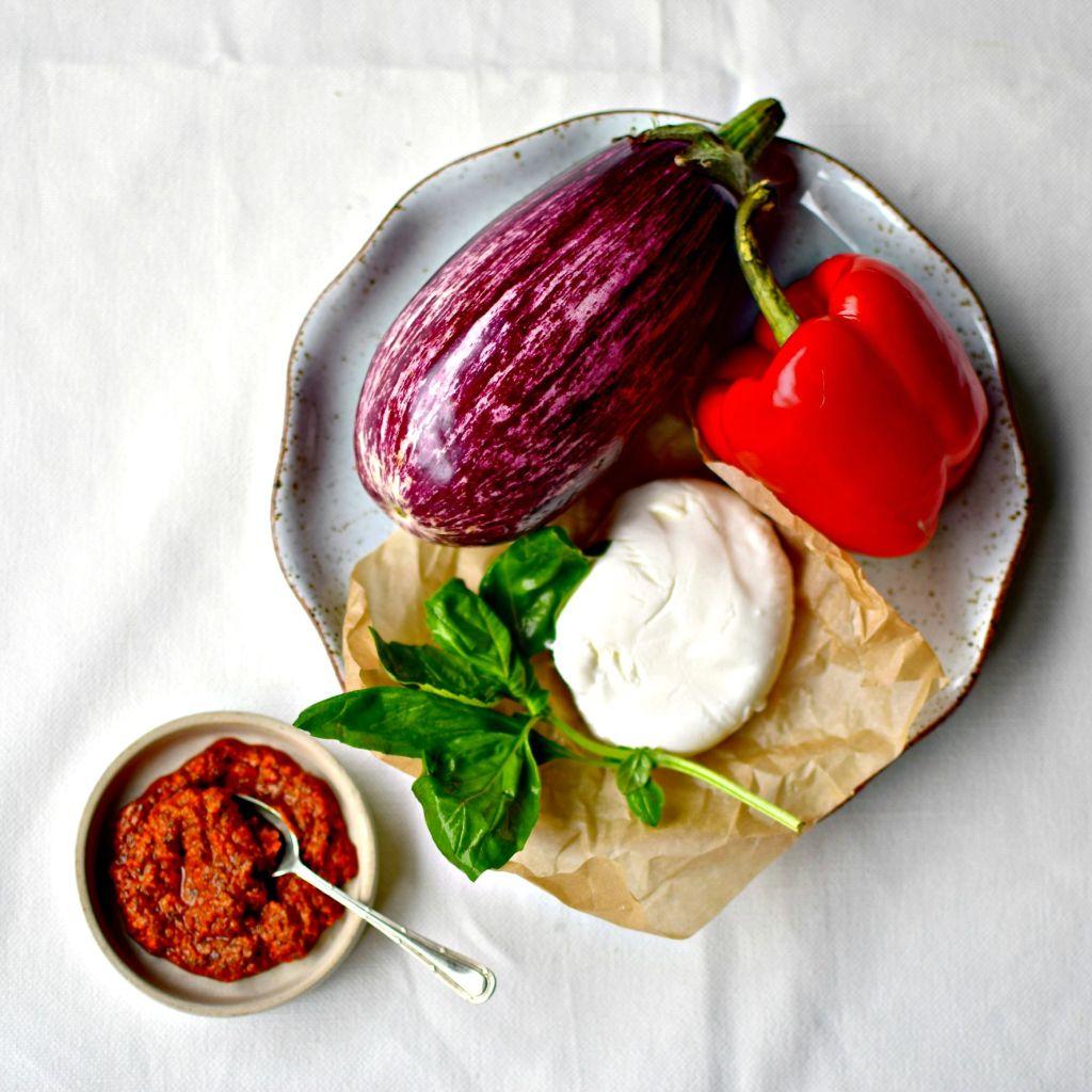 panini-style eggplant parmigiana