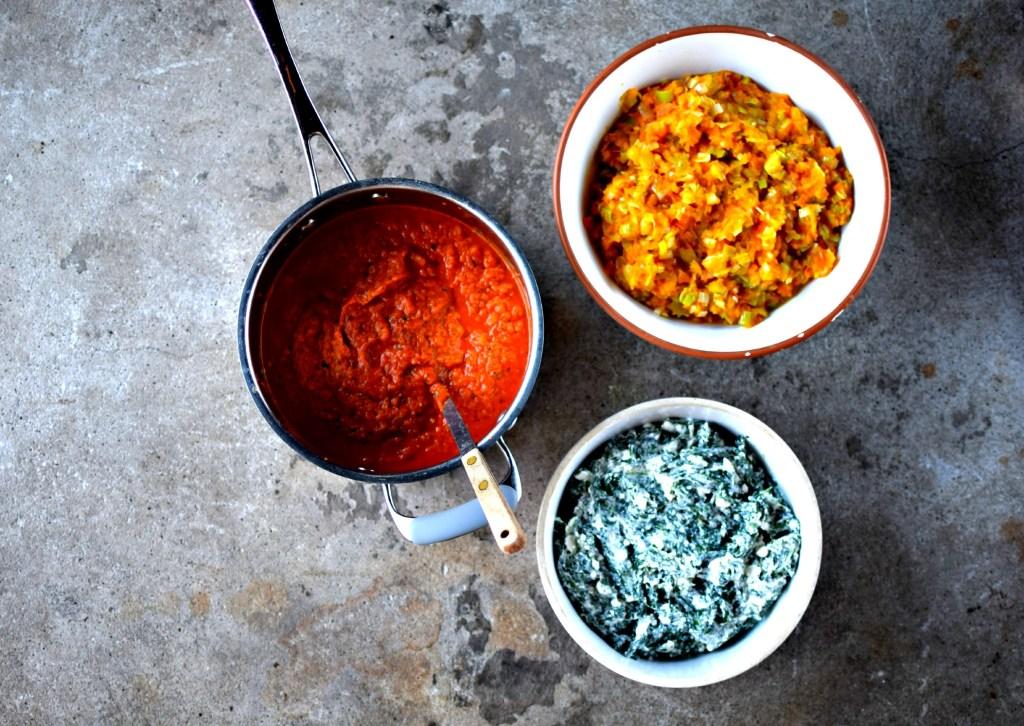 vegetarian lasagne sauces