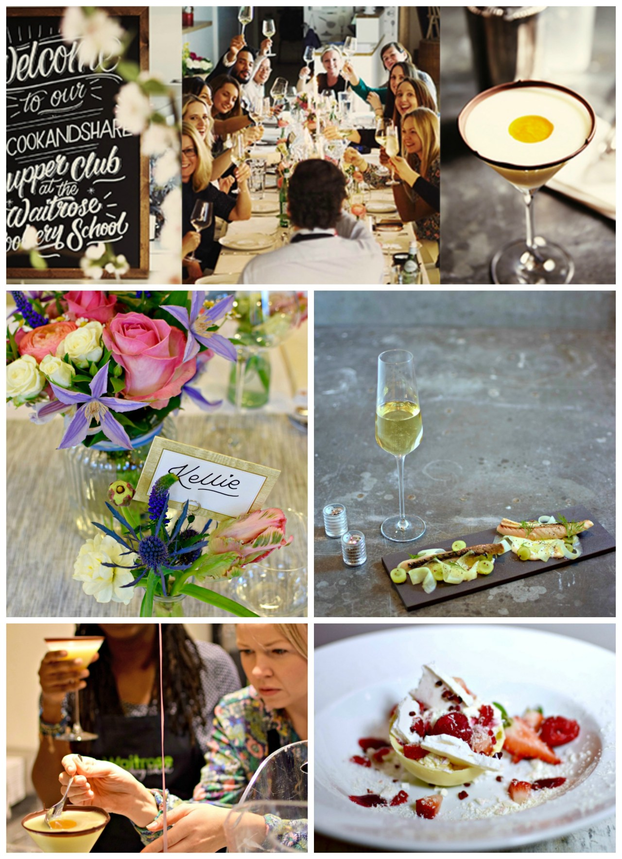 Waitrose #CookandShare event, London