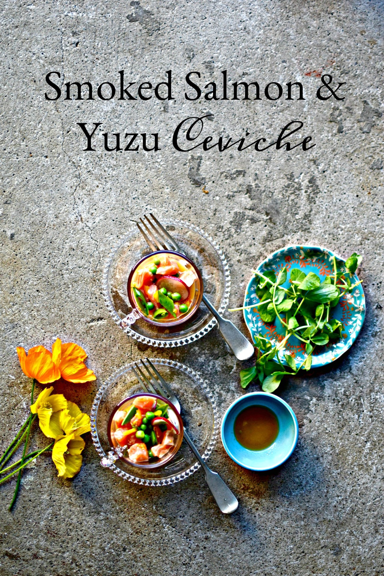 Light, bright, healthy and easy, ceviche is summer's quickest fancy food option. Cooked, yet not heated, ceviche saves you toiling away in a hot kitchen yet gives you the most glorious appetizer or lunch. And it's one of the easiest and prettiest dishes in the world to prepare. The yuzu tips it into must-make territory.