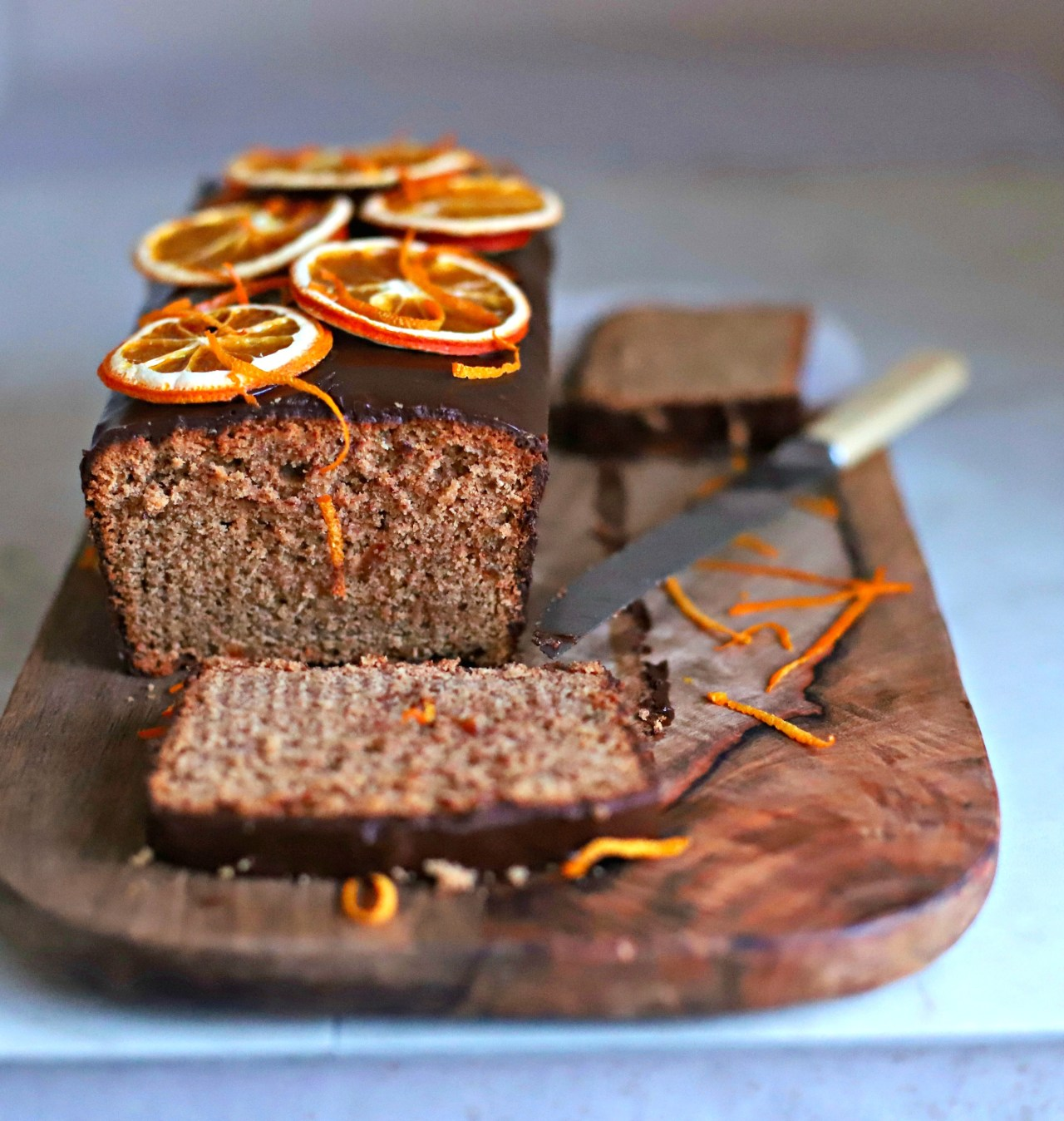 Heady with a homemade lebkuchen spice mix, this one-bowl, marmalade-spiked and chocolate-covered cake is great with a cup of tea or coffee. It's more than a gingerbread!