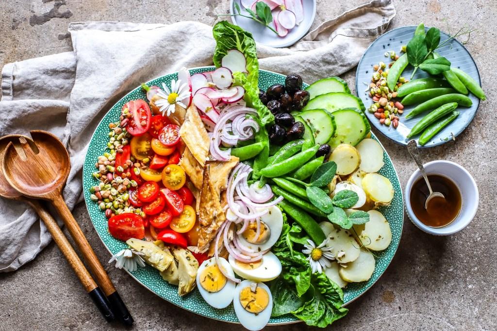 colourful, composed salade Nicoise