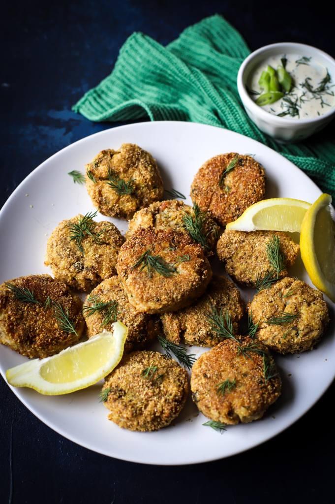 low-carb smoked mackerel fishcakes