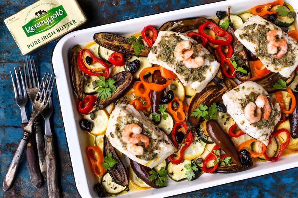 easy sheet pan mediterranean fish