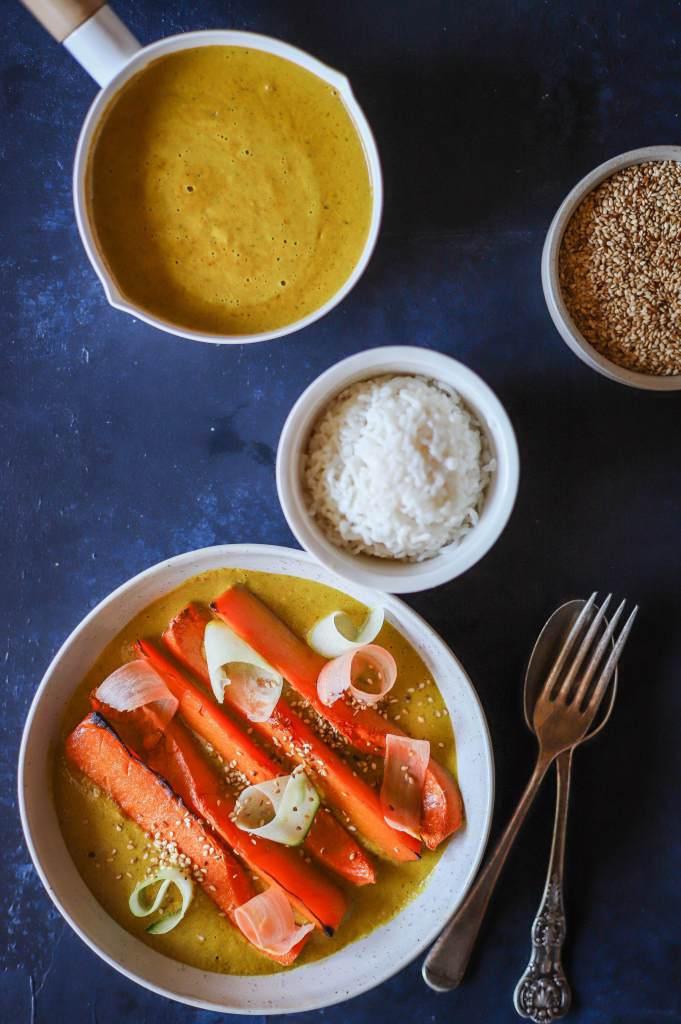 katsu curry sauce as a meal