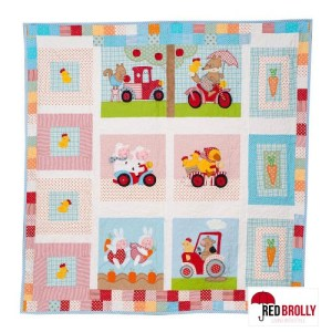 Red Briar Farm Quilt Pattern by Red Brolly