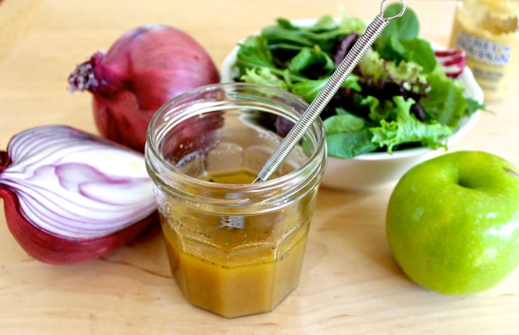 Apple Cider Dijon Vinaigrette