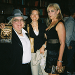 Launch Party 2008 with Michelle Gagnon and Heather Graham