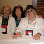 Left Coast Crime 09 with Rita Lakin and Fran Read