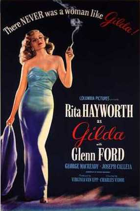 Film Poster for Gilda