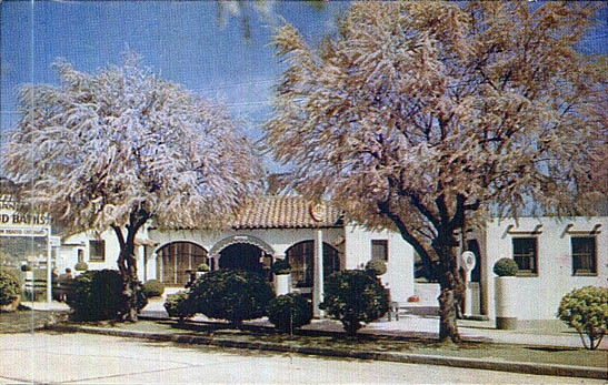 Exterior color view of Nance Sanitarium Color