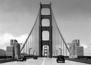 The Golden Gate Bridge, 1940
