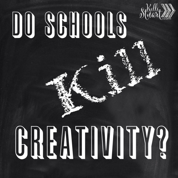 school kills creativity essay My english teacher graded our essays using what she called the spectrum of meaning basically, that meant that your education is narrow being in 4 different methods of schooling, i do say school can kill creativity because school isn't about understanding for the future it's about excessive, rote memorization in order.