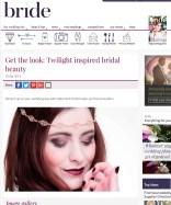 twilight bridal make-up