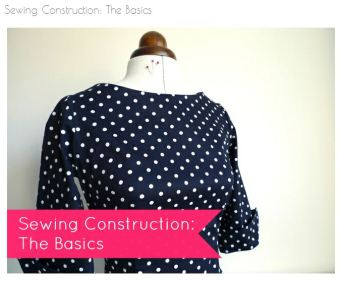Sewing Construction - The Basics