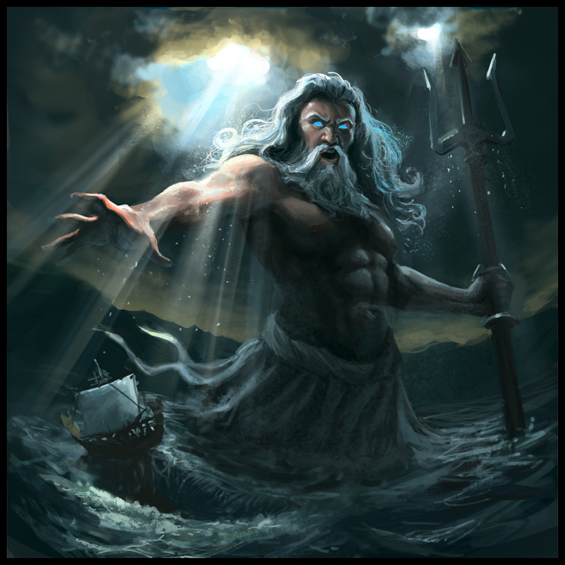 Hail Poseidon, Hail Neptune. (2/4)