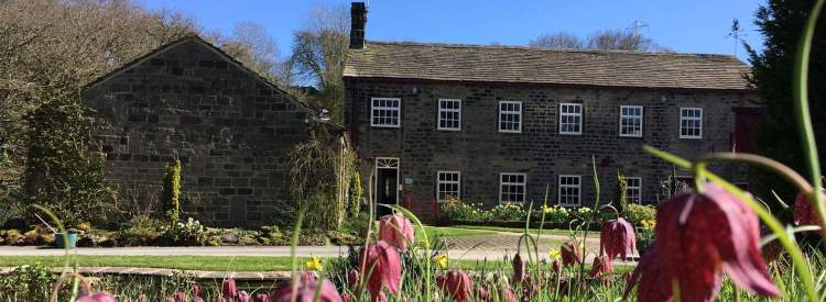 yoga day retreat at Hewenden Mill in West Yorkshire