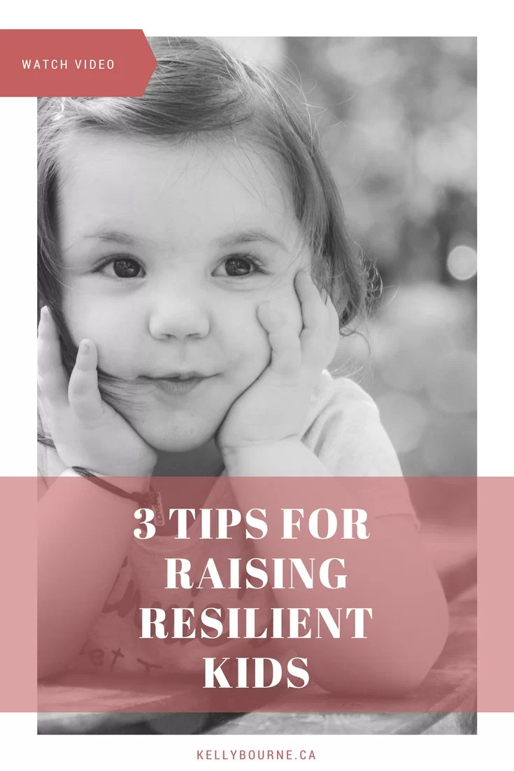 [VIDEO] Tips for Raising Resilient Kids | 3 quick and easy tips to help boost your kids' resilience and stick-to-itiveness (is that even a word?!), including a little challenge you can do *with* your kids to help model what it means to have grit.