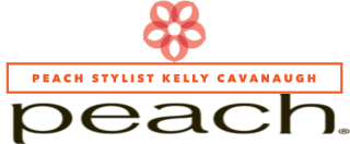 peach Stylist Kelly Cavanaugh logo