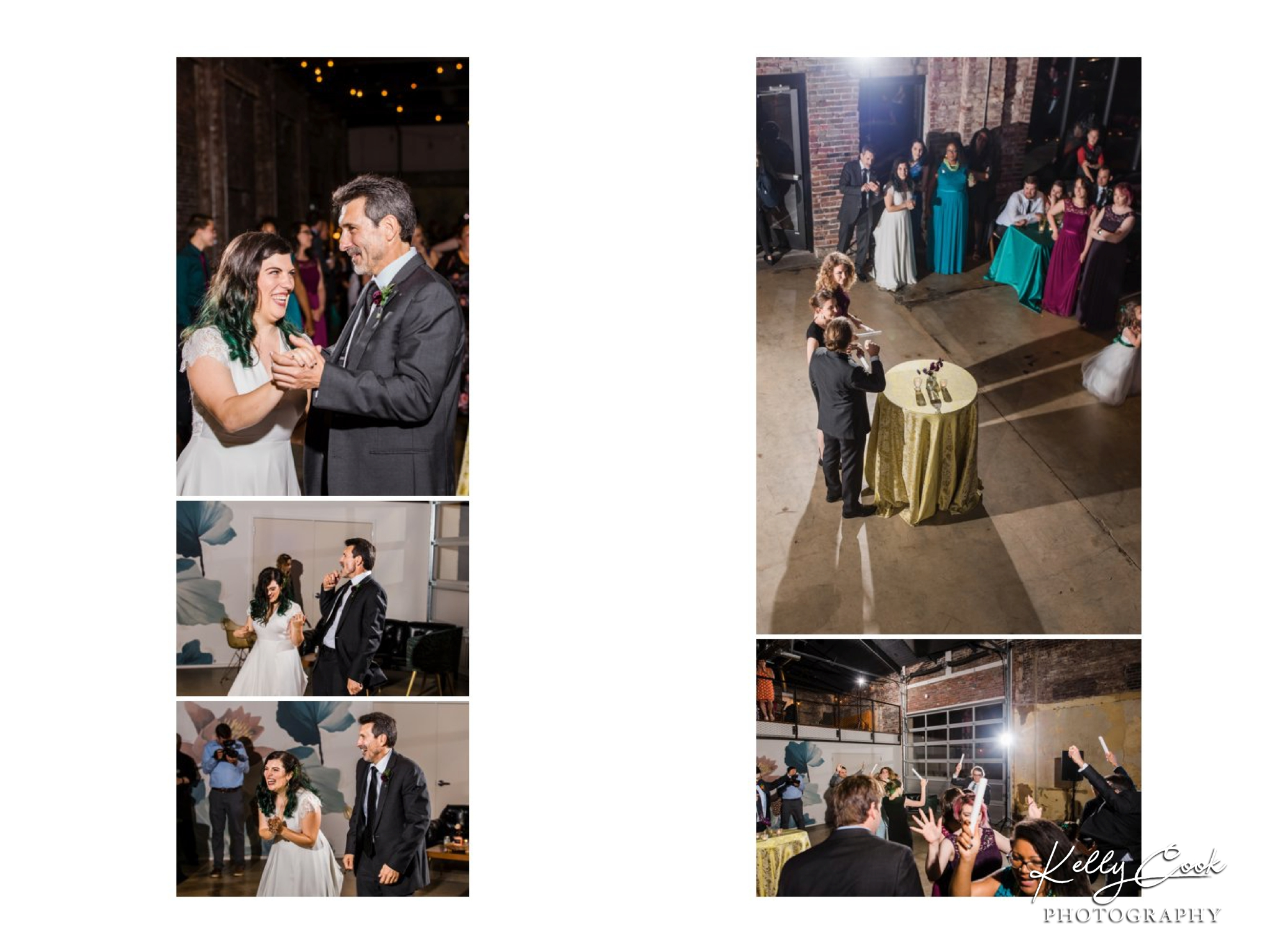 Candid dancing photos from a Wild Carrot wedding in St. Louis