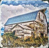 Blue Barn Coaster