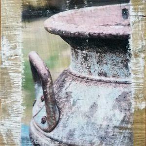Brown Milk Jugs Wall Decor by Kelly Cushing