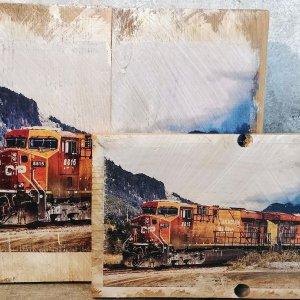 North Bend Train Wall Decor by Kelly Cushing