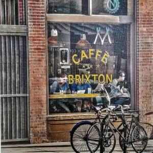 Caffe Brixton on Canvas
