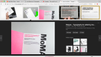 Researching examples of MoMA's existing promotional designs