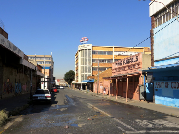 Street in Jeppestown