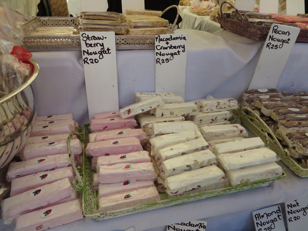 Nougat-a bit too sweet for me