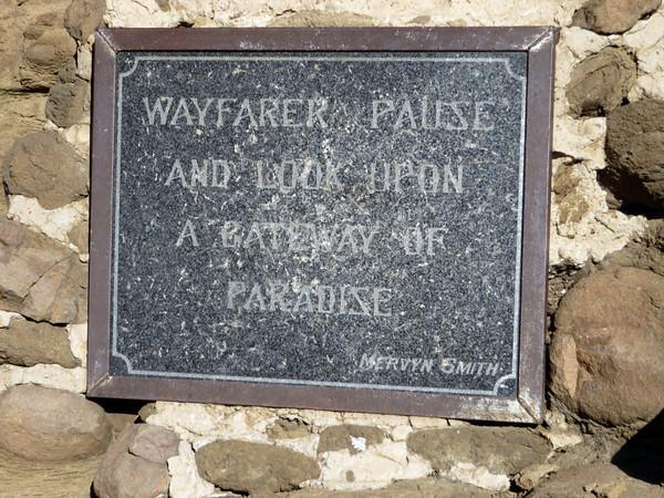 Gates of Paradise Plaque