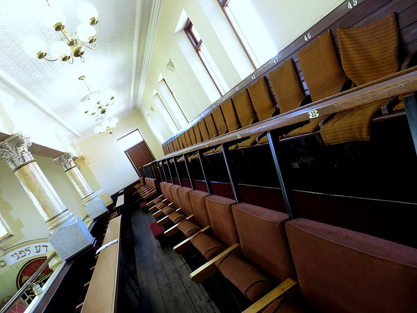 Lion Shul - women's seating in the upper level