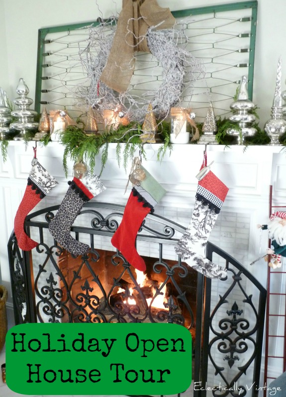 Christmas Open House Tour Tons Of Christmas Decorating