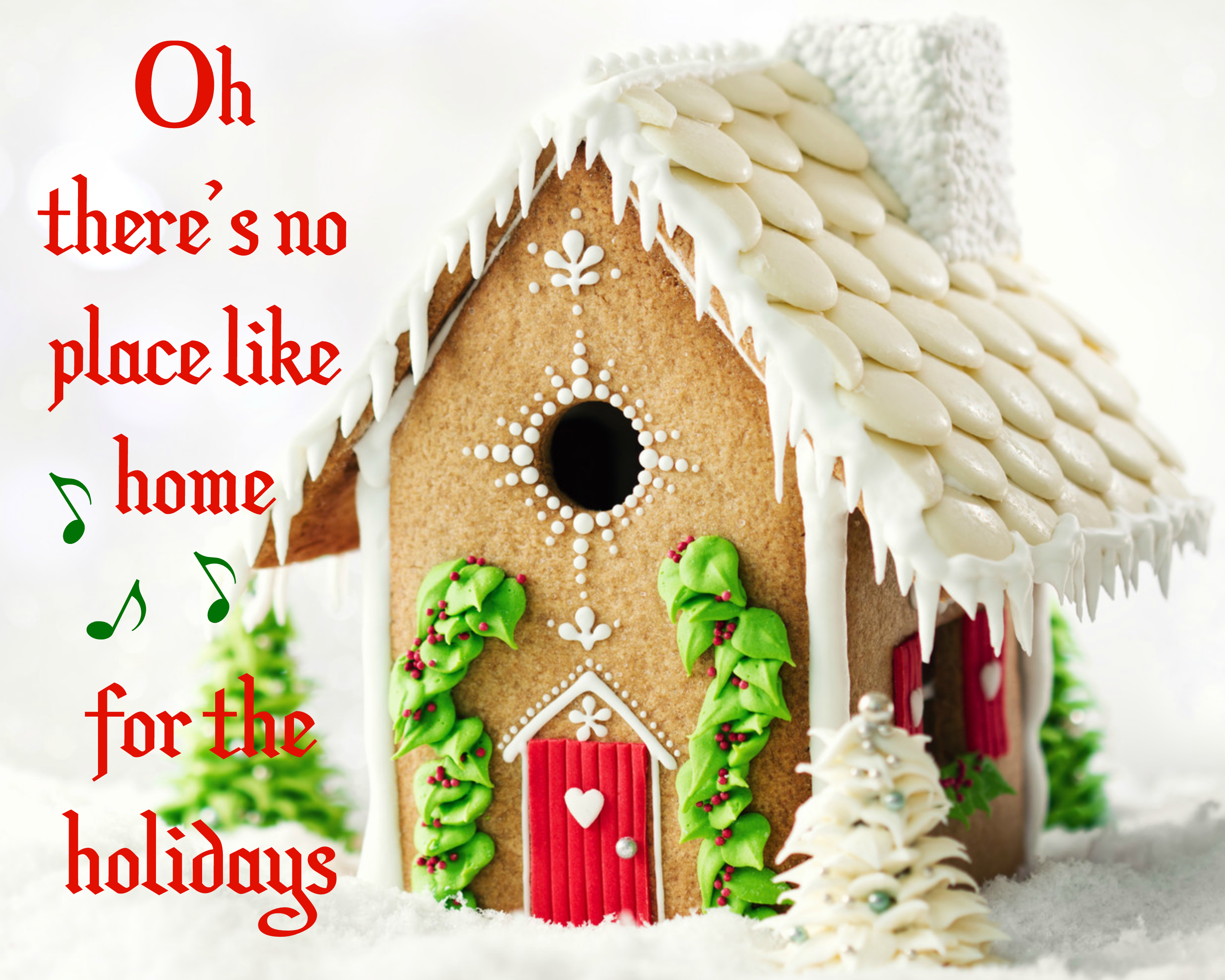 Free Christmas Gingerbread House Printable