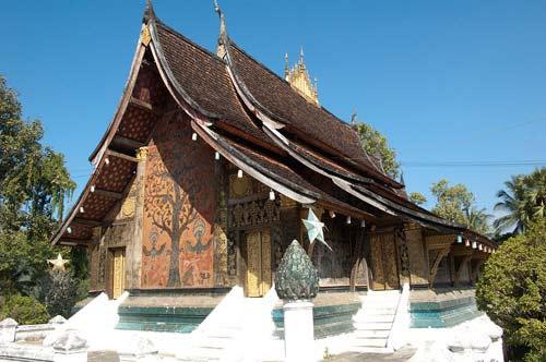 Wat Xieng Thong sim, Luang Prabang, Laos