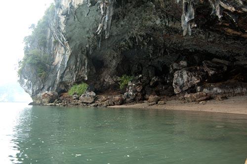 cavern at Ha Long Bay, Vietnam
